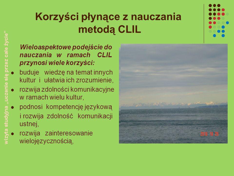 Korzyści płynące z nauczania metodą CLIL