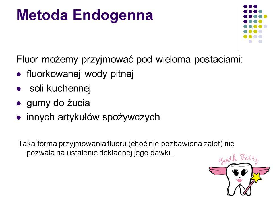 Metoda Endogenna Fluor możemy przyjmować pod wieloma postaciami: