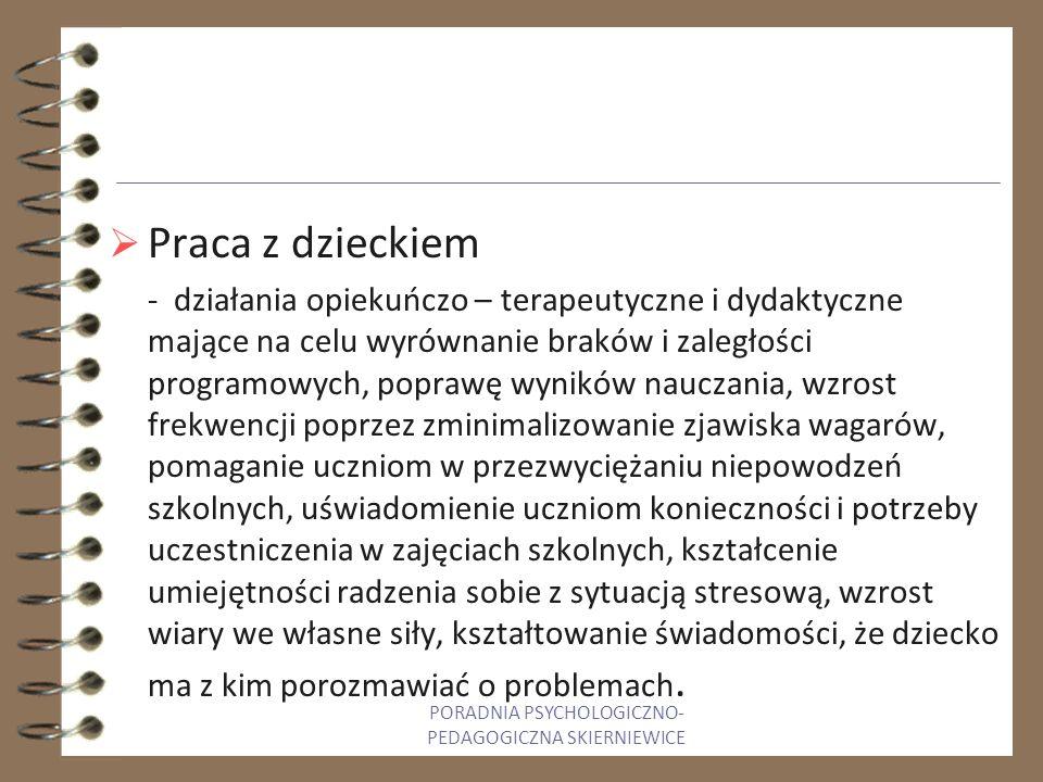 PORADNIA PSYCHOLOGICZNO-PEDAGOGICZNA SKIERNIEWICE
