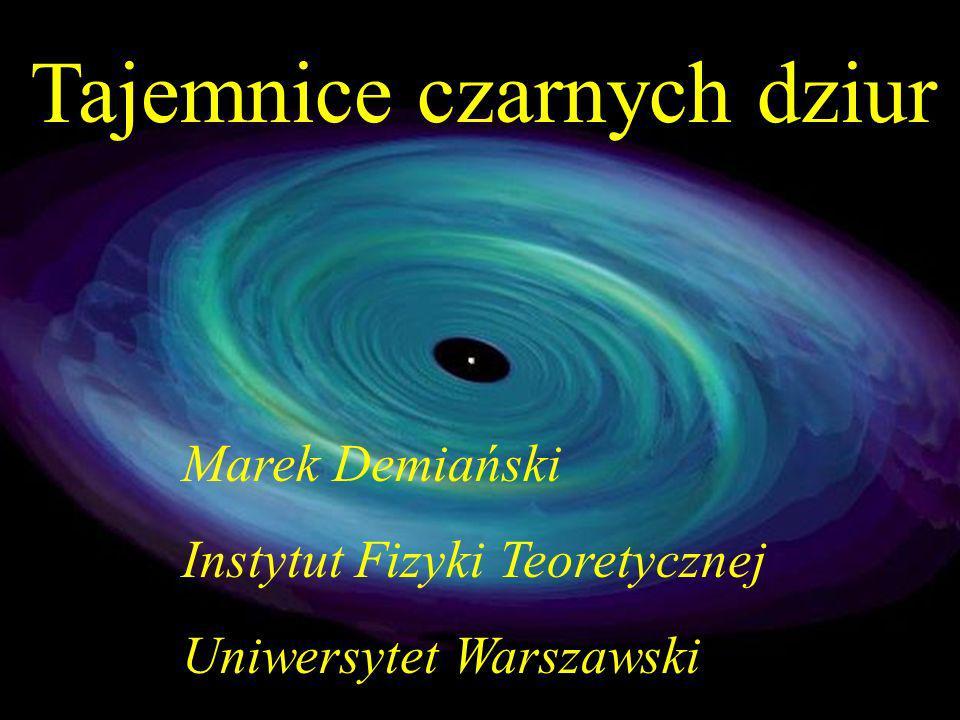 Tajemnice czarnych dziur