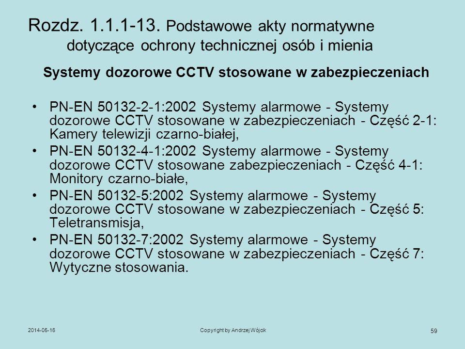 Systemy dozorowe CCTV stosowane w zabezpieczeniach