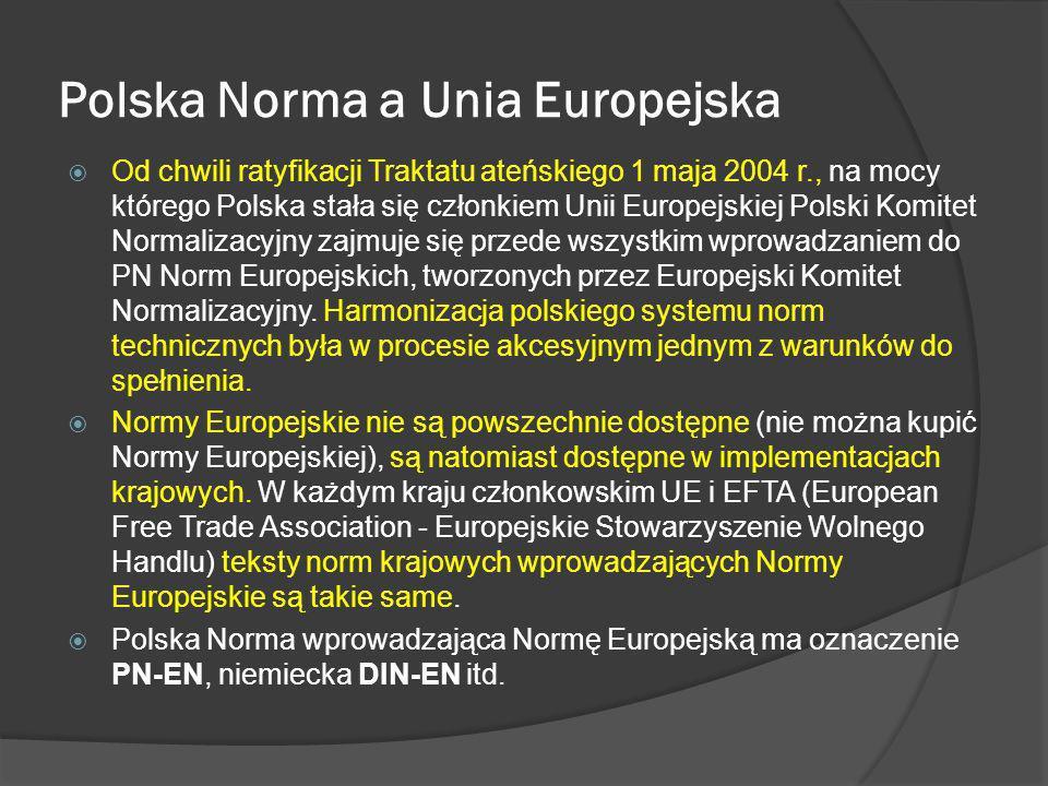 Polska Norma a Unia Europejska
