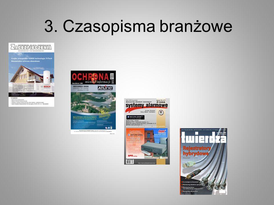 3. Czasopisma branżowe
