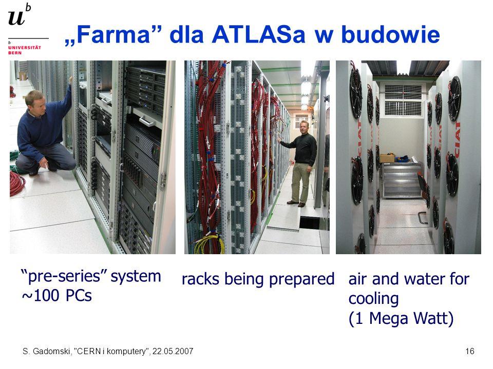 """""""Farma dla ATLASa w budowie"""