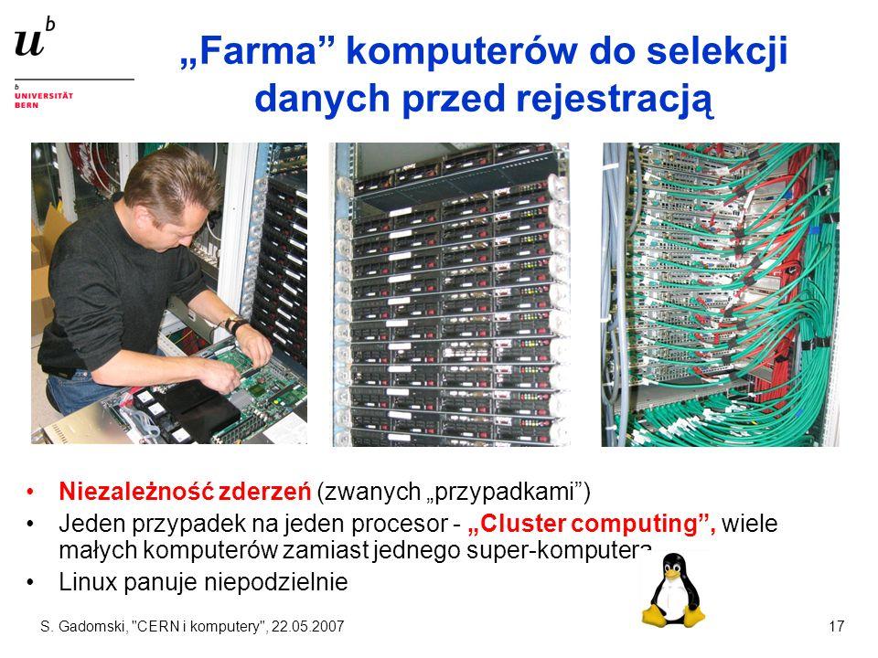 """""""Farma komputerów do selekcji danych przed rejestracją"""