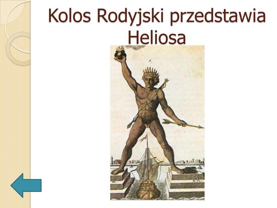Kolos Rodyjski przedstawia Heliosa