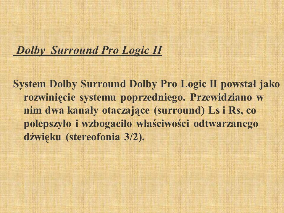 Dolby Surround Pro Logic II