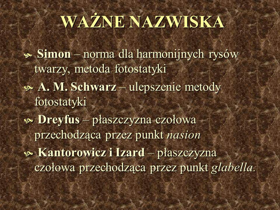 WAŻNE NAZWISKA A. M. Schwarz – ulepszenie metody fotostatyki