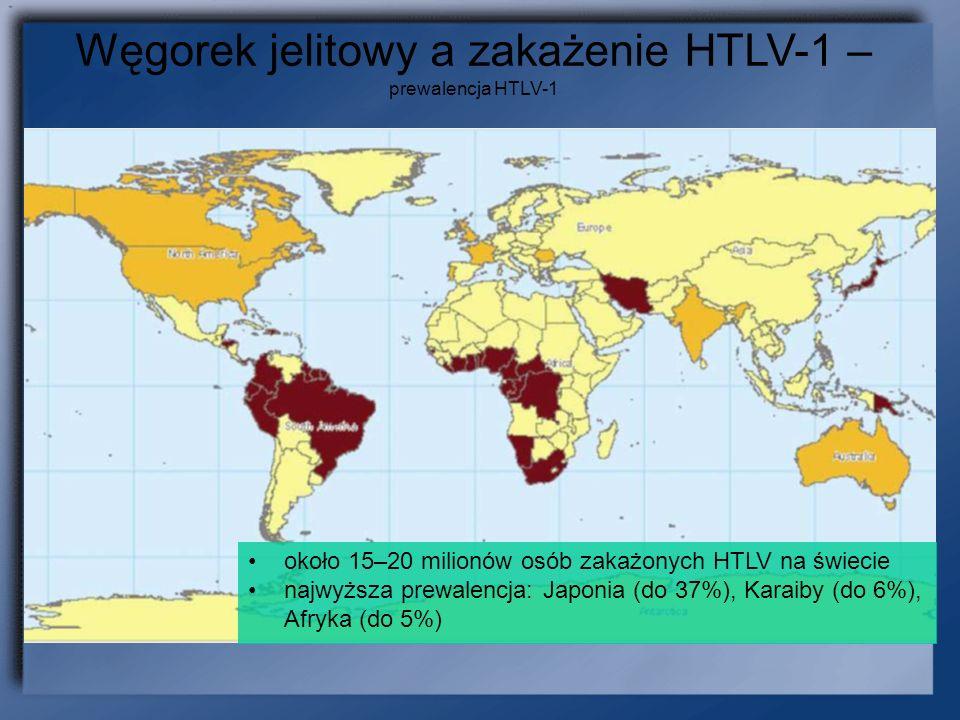 Węgorek jelitowy a zakażenie HTLV-1 – prewalencja HTLV-1