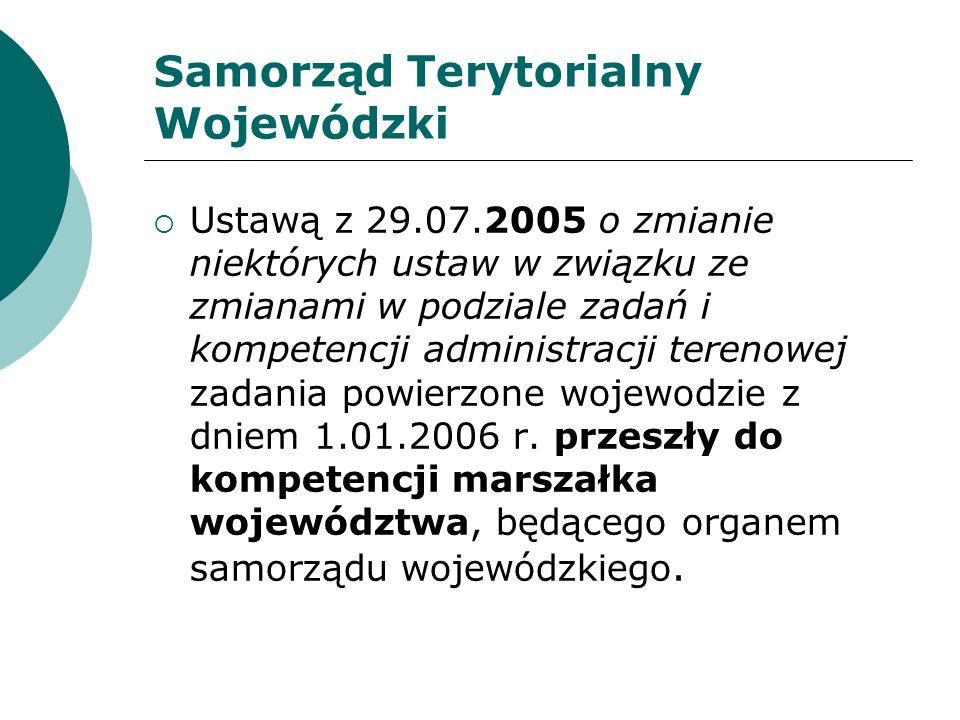 Samorząd Terytorialny Wojewódzki