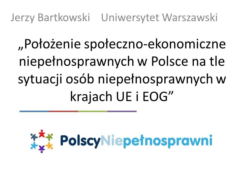 Jerzy Bartkowski Uniwersytet Warszawski