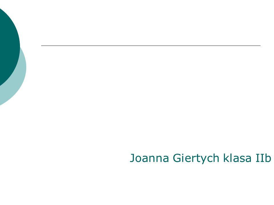 Joanna Giertych klasa IIb