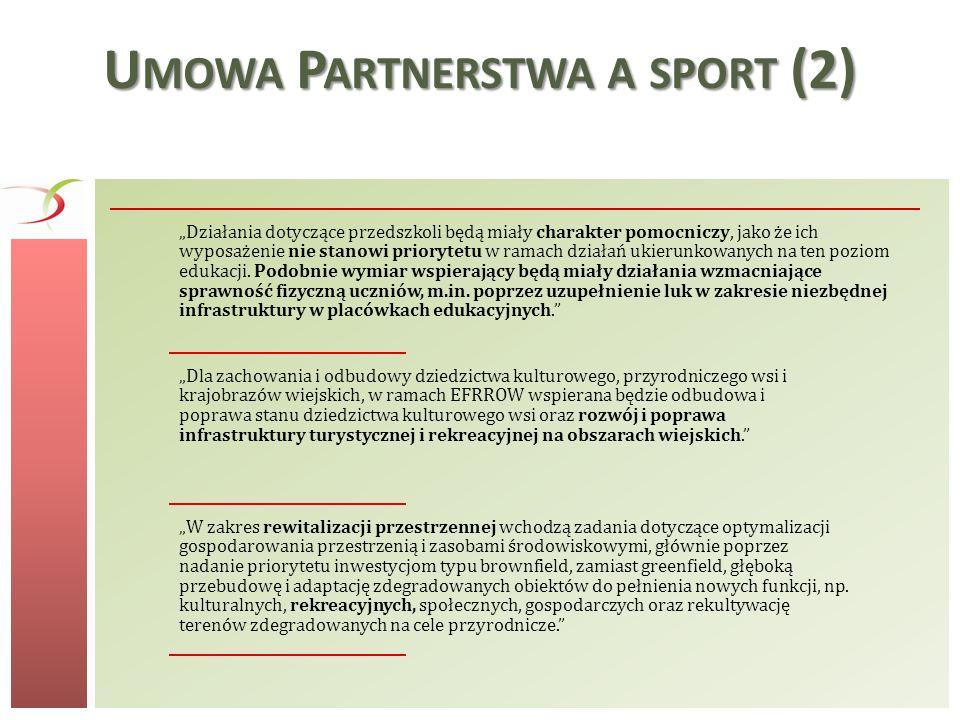 Umowa Partnerstwa a sport (2)