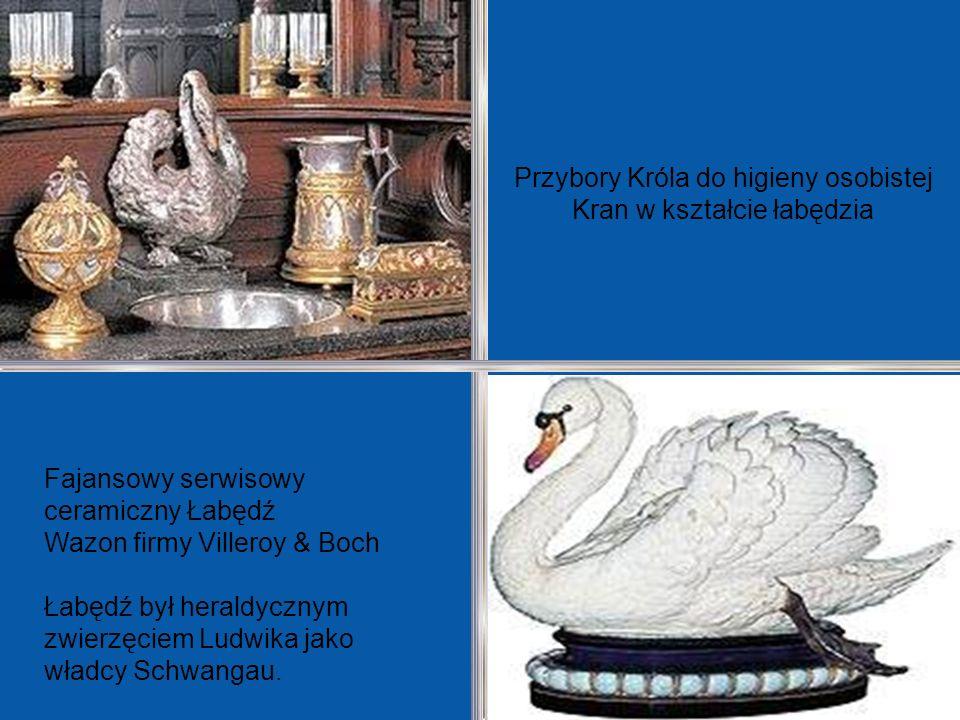Przybory Króla do higieny osobistej Kran w kształcie łabędzia
