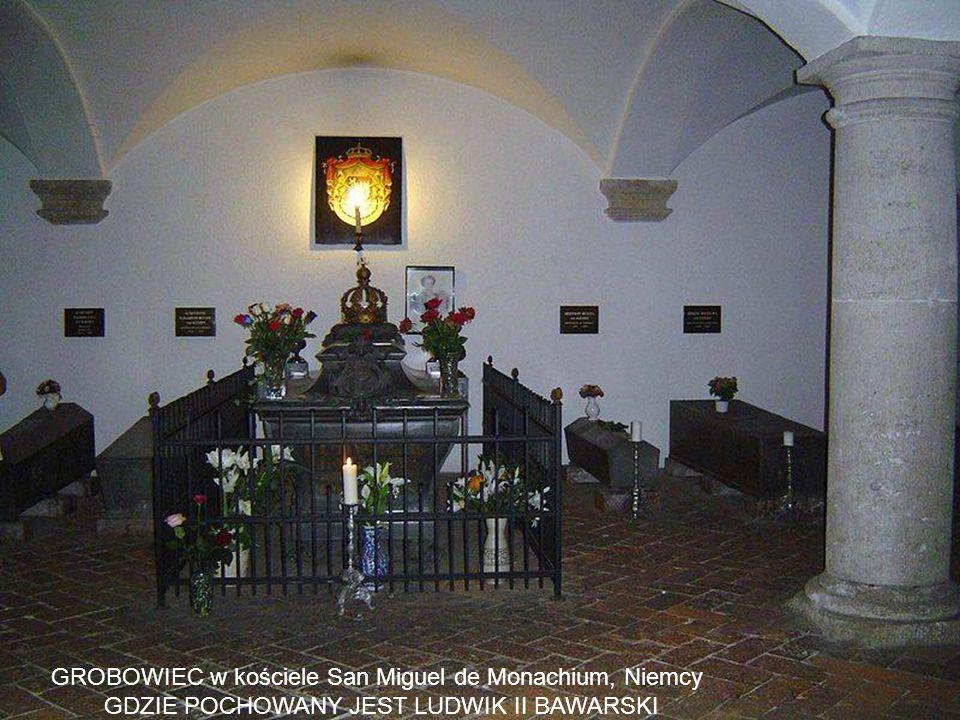 GROBOWIEC w kościele San Miguel de Monachium, Niemcy