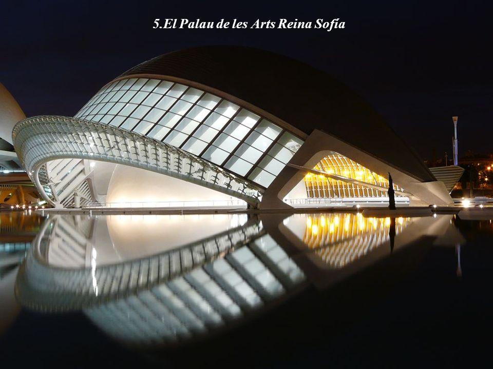 5.El Palau de les Arts Reina Sofía