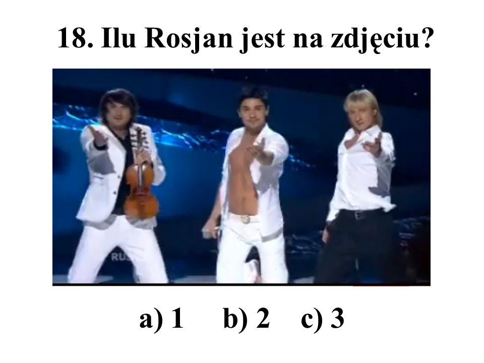 18. Ilu Rosjan jest na zdjęciu