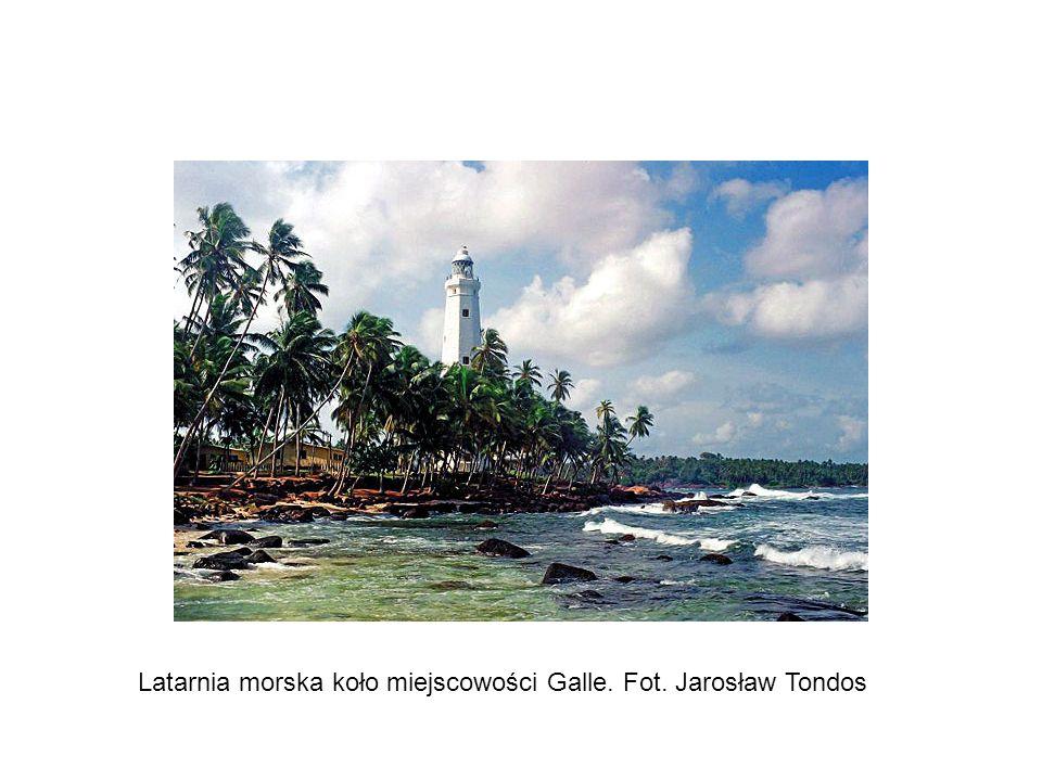 Latarnia morska koło miejscowości Galle. Fot. Jarosław Tondos