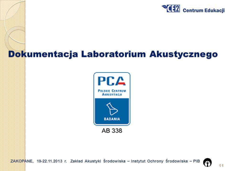 Dokumentacja Laboratorium Akustycznego