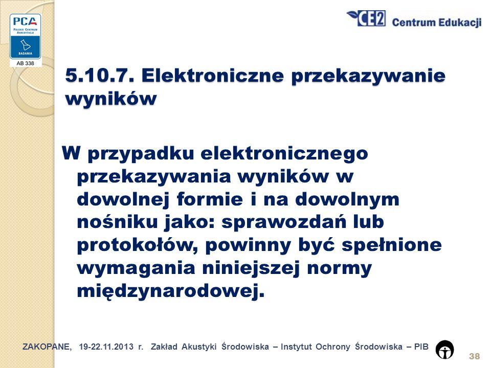 5.10.7. Elektroniczne przekazywanie wyników