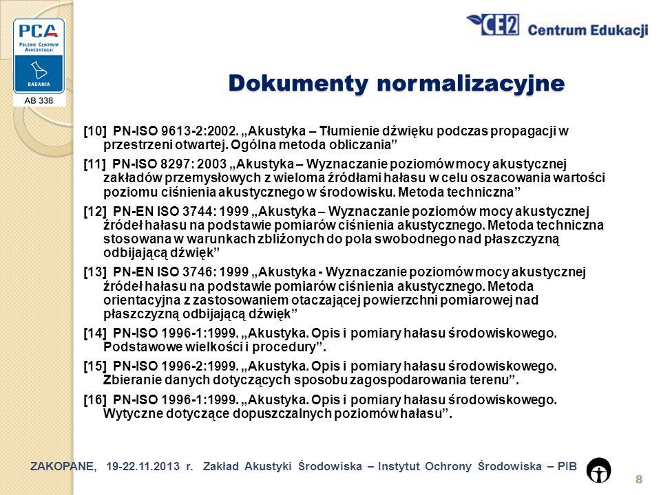 Dokumenty normalizacyjne