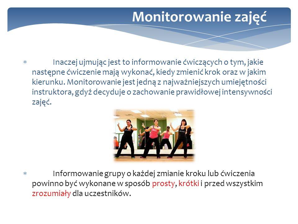 Monitorowanie zajęć