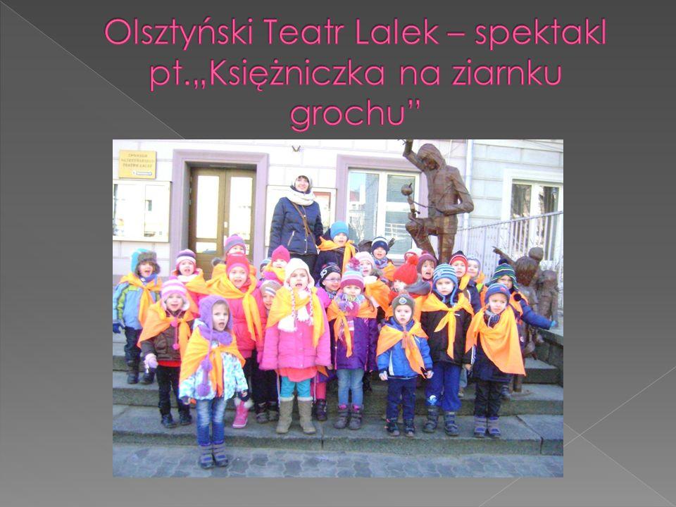 """Olsztyński Teatr Lalek – spektakl pt.""""Księżniczka na ziarnku grochu"""