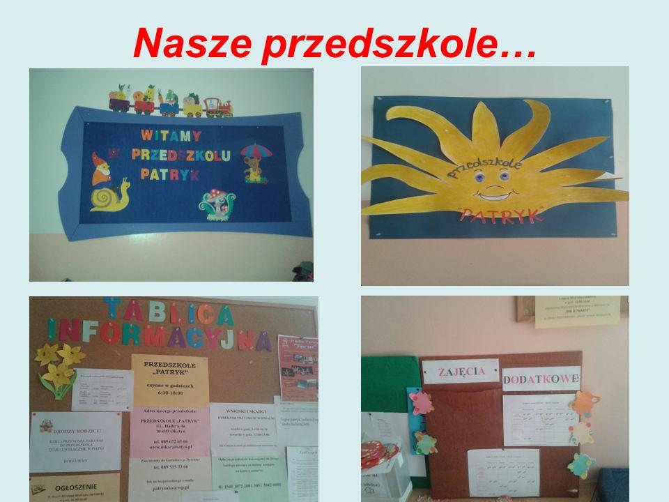 Nasze przedszkole…