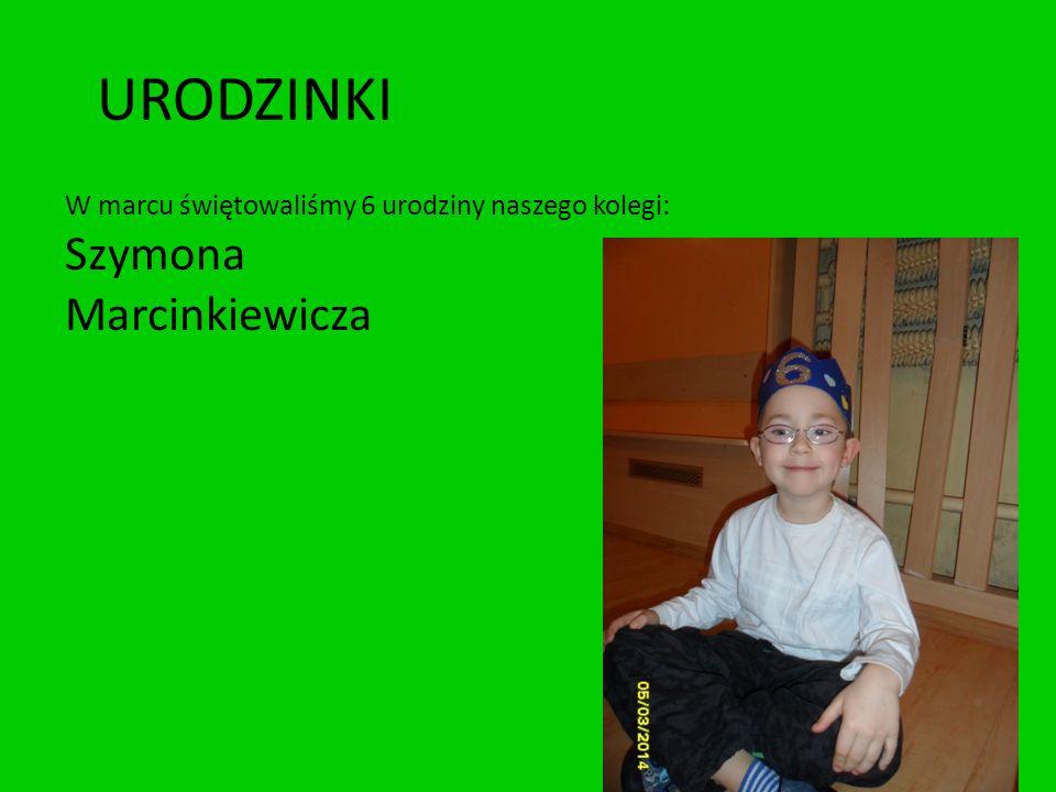 URODZINKI Szymona Marcinkiewicza