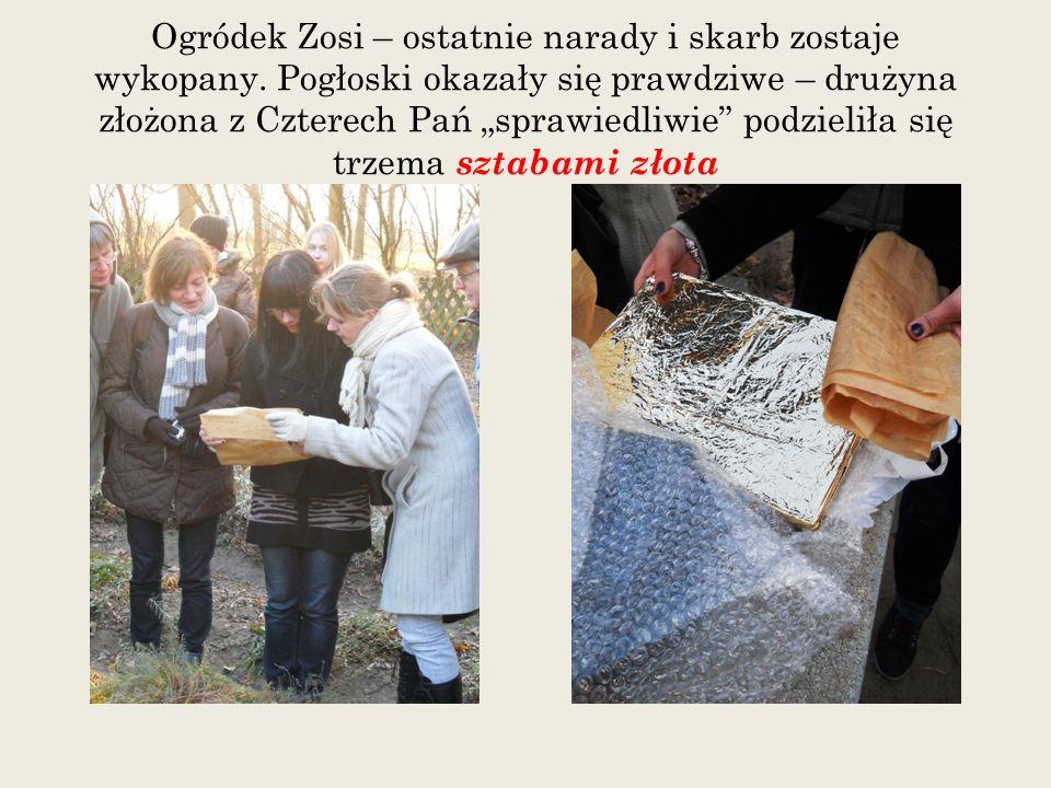 Ogródek Zosi – ostatnie narady i skarb zostaje wykopany