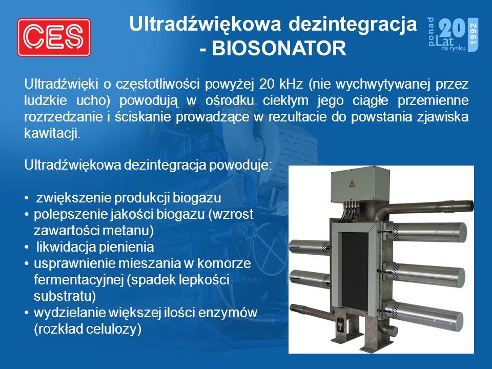 Ultradźwiękowa dezintegracja