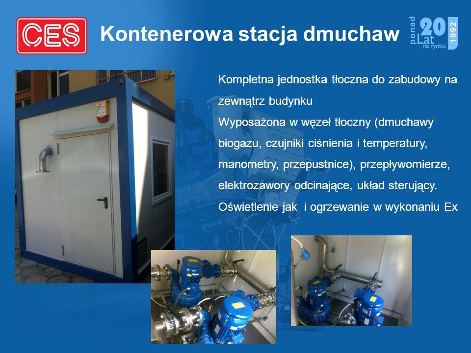 Kontenerowa stacja dmuchaw