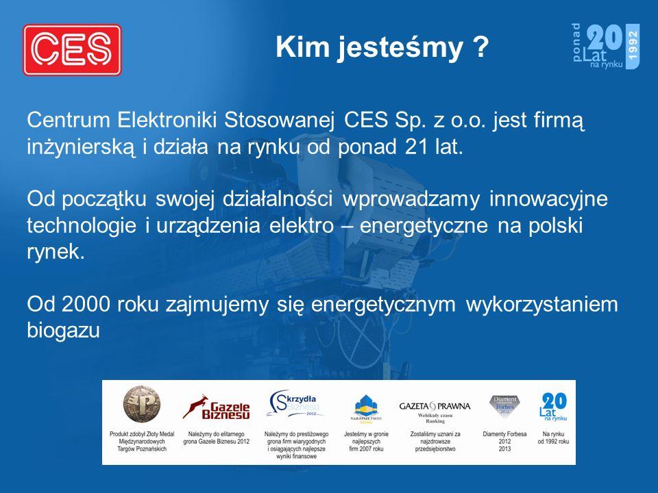 Kim jesteśmy Centrum Elektroniki Stosowanej CES Sp. z o.o. jest firmą inżynierską i działa na rynku od ponad 21 lat.