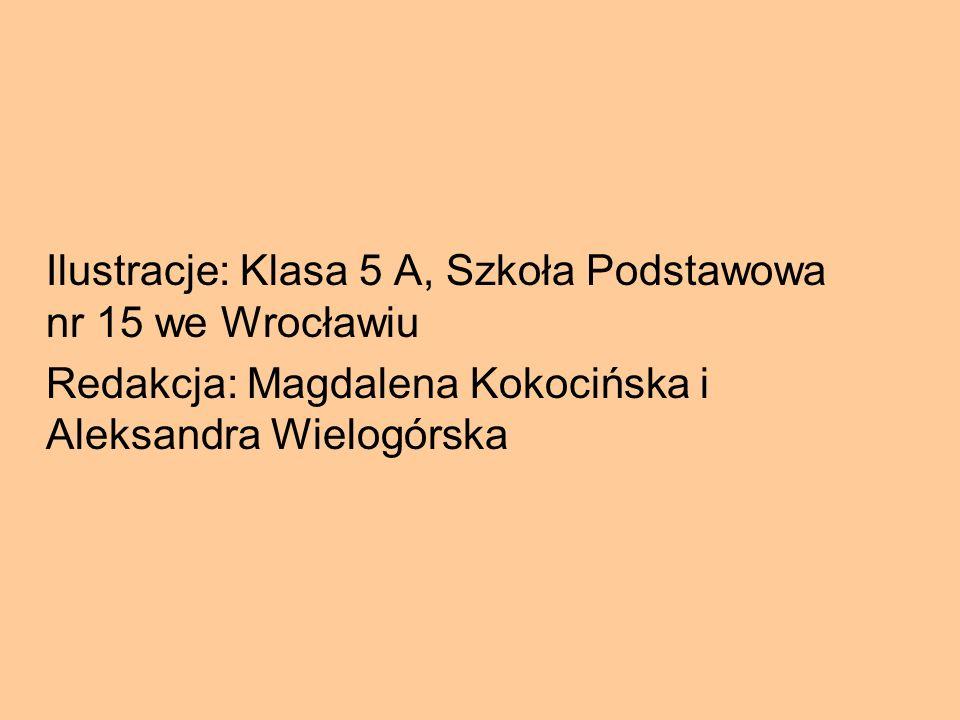 Ilustracje: Klasa 5 A, Szkoła Podstawowa nr 15 we Wrocławiu