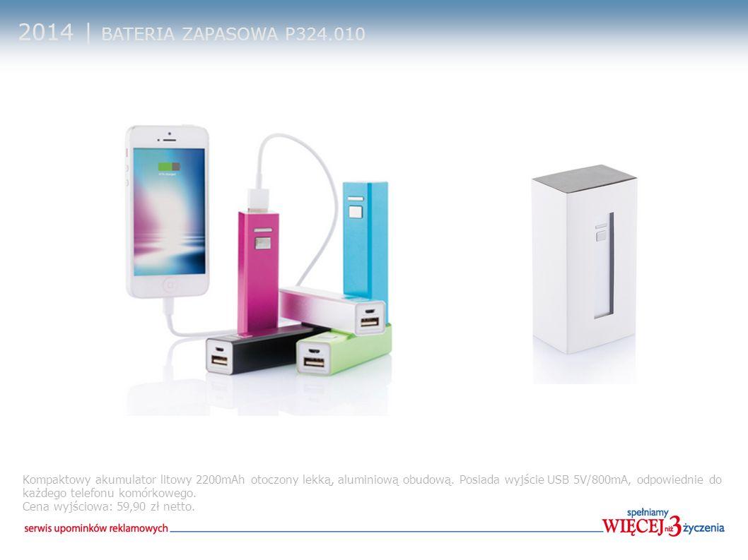 2014 | BATERIA ZAPASOWA P324.010