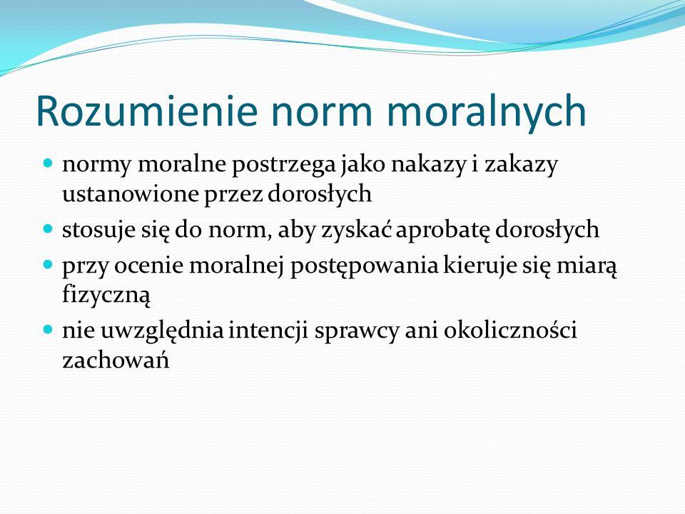 Rozumienie norm moralnych