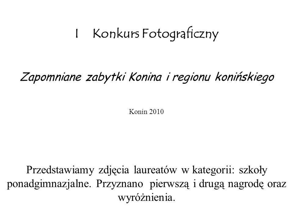 I Konkurs Fotograficzny