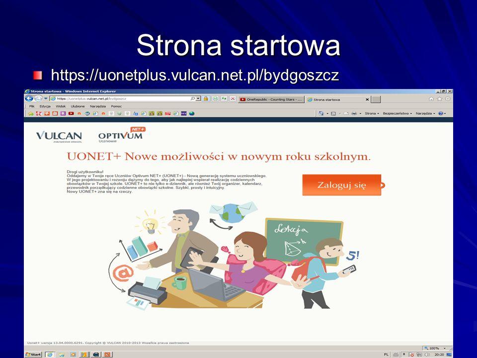 Strona startowa https://uonetplus.vulcan.net.pl/bydgoszcz