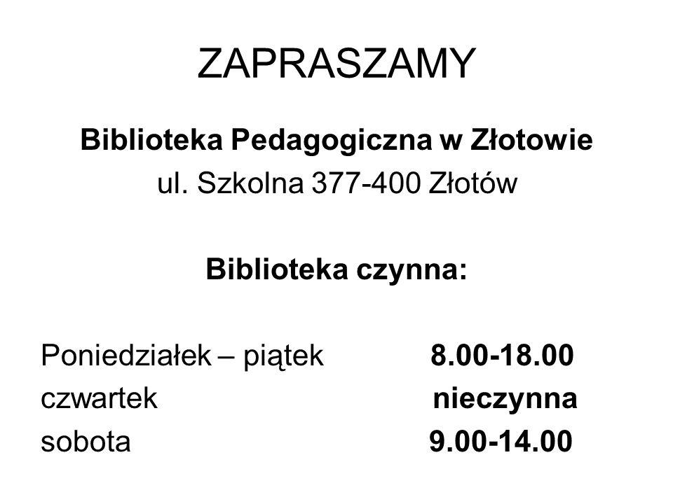 Biblioteka Pedagogiczna w Złotowie