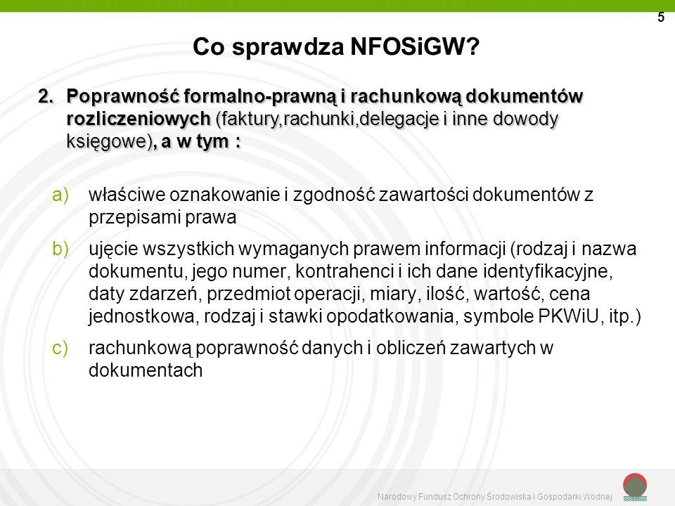 5 Co sprawdza NFOSiGW