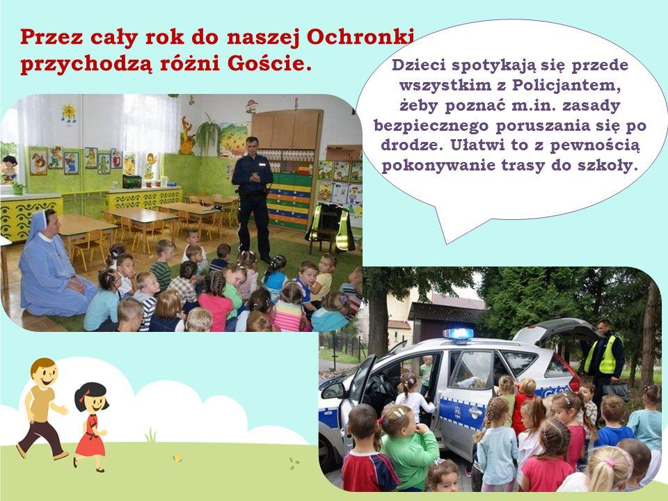Dzieci spotykają się przede wszystkim z Policjantem,