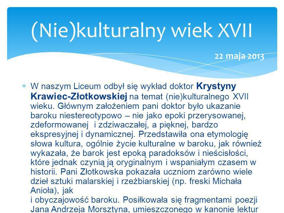 (Nie)kulturalny wiek XVII