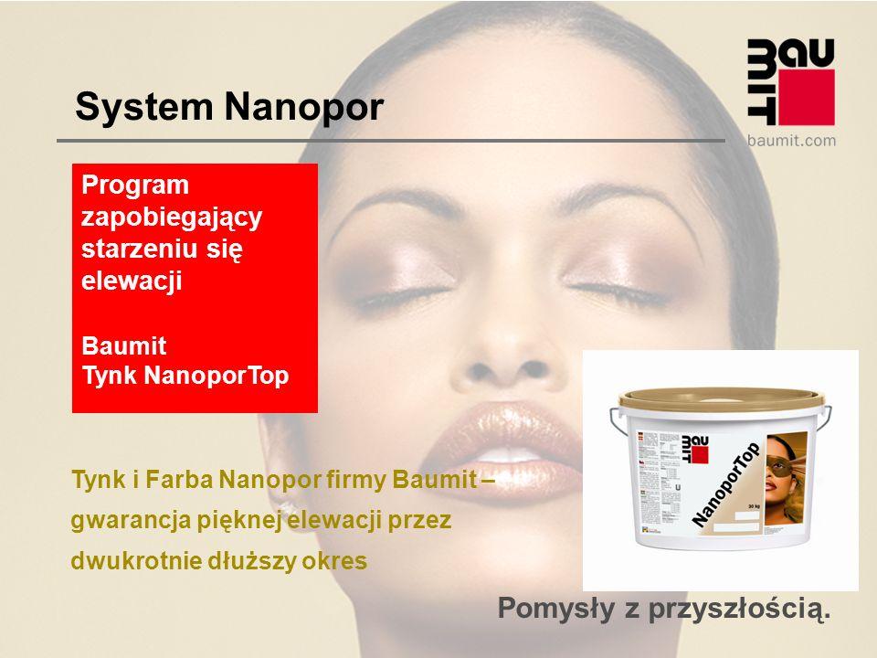 System Nanopor Program zapobiegający starzeniu się elewacji Baumit