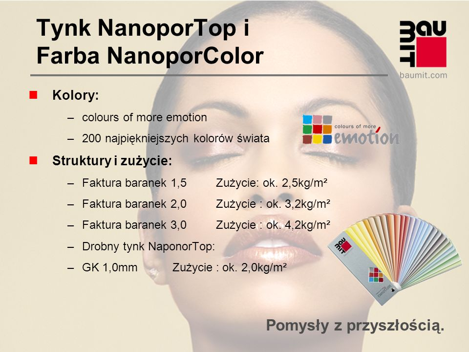 Tynk NanoporTop i Farba NanoporColor