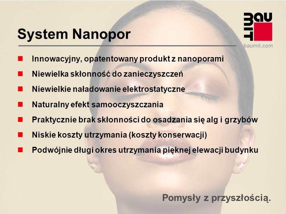 System Nanopor Innowacyjny, opatentowany produkt z nanoporami
