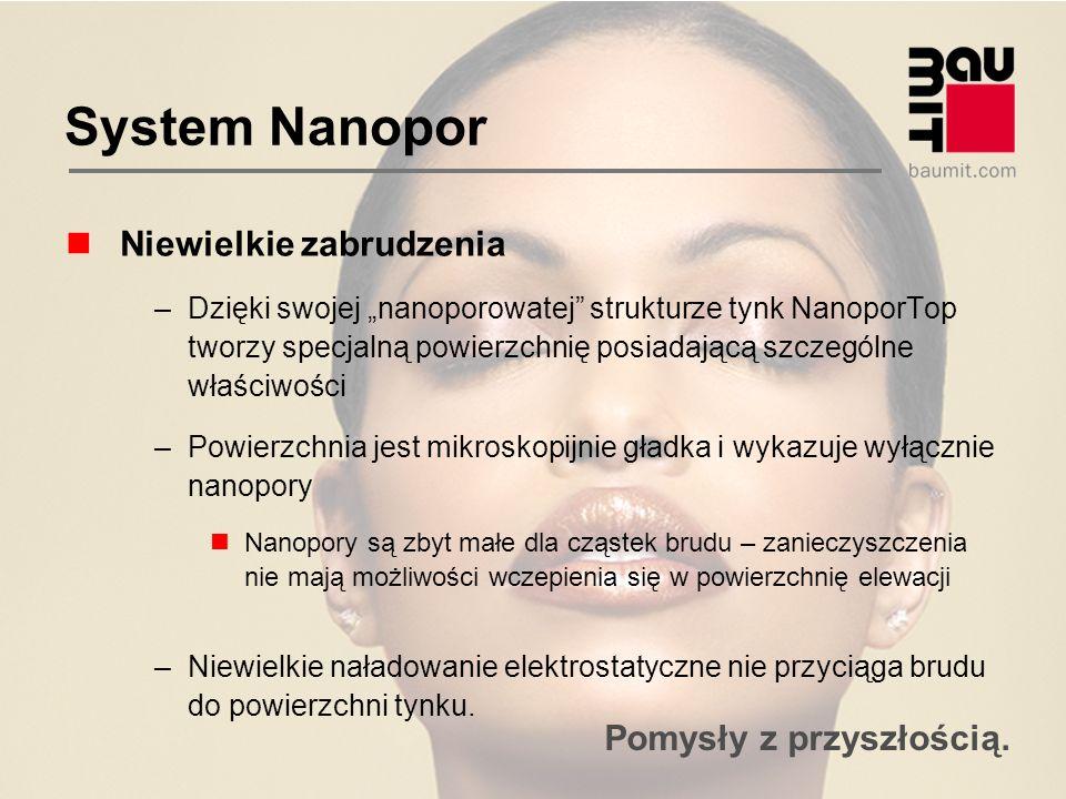 System Nanopor Niewielkie zabrudzenia