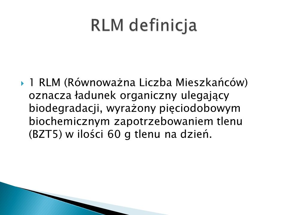 RLM definicja