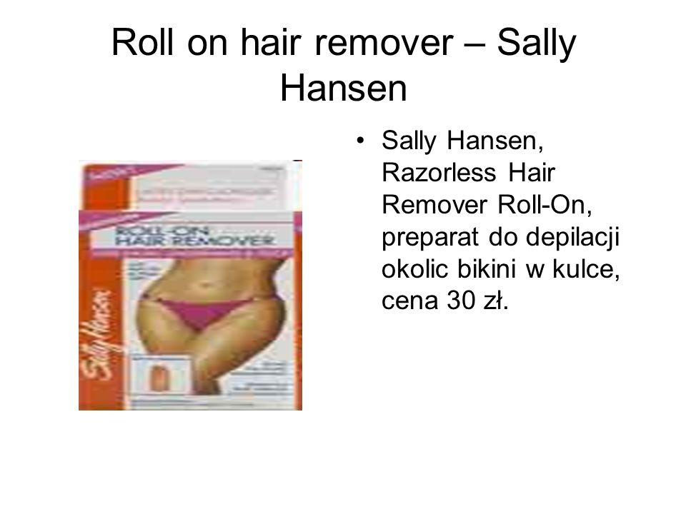 Roll on hair remover – Sally Hansen