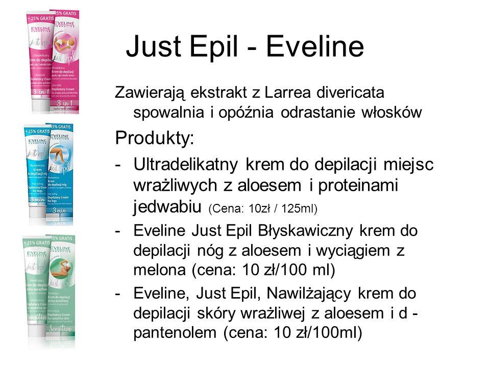 Just Epil - Eveline Produkty: