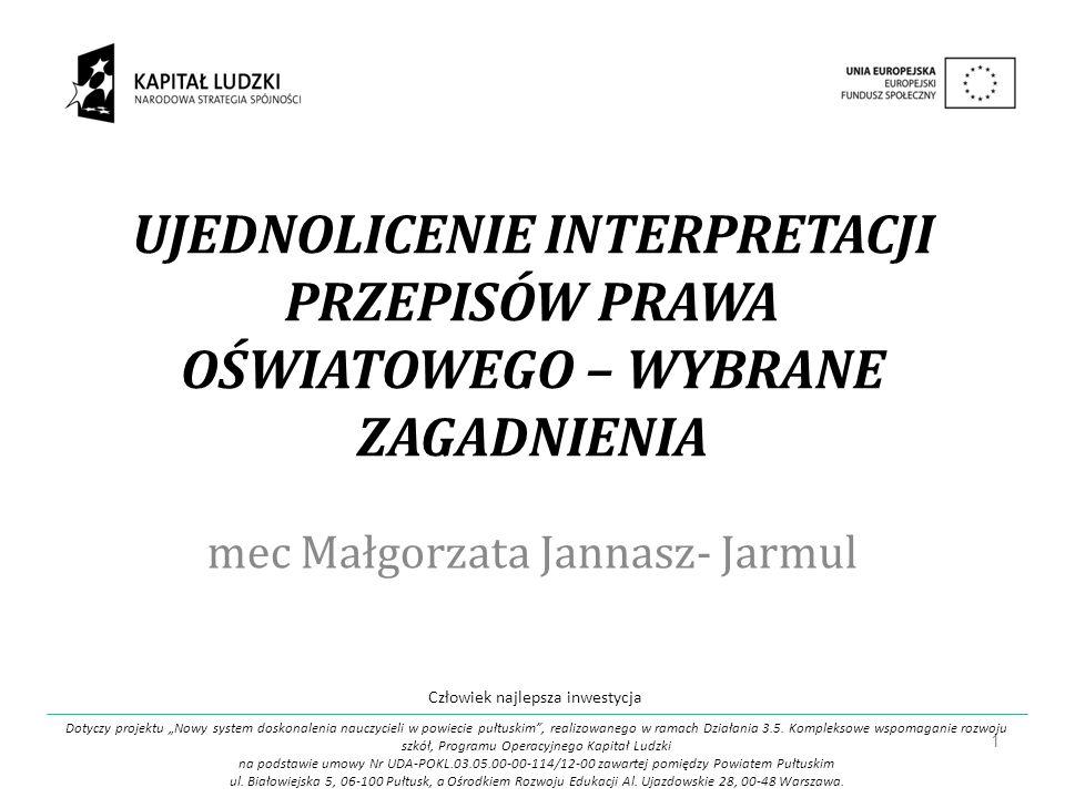 mec Małgorzata Jannasz- Jarmul